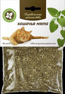 Кошачья мята  Деревенские лакомства - фото 5095