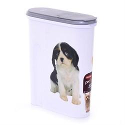 "Контейнер для корма Curver PetLife  ""Собака"" на 1,5 кг. 25*10*30 см - фото 8182"