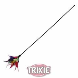 Удочка с перьями 50 см TRIXIE - фото 8230