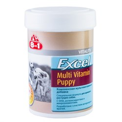 """8 in 1"" Эксель Мультивитамины для щенков 100 таб. - фото 8243"