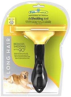 FURminator для собак крупных длинношерстных пород Long Hair Large Dog 10 см - фото 9277