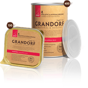 Консервы Grandorf для Взрослых собак всех пород. Телятина.