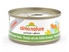 Консервы Almo Nature для Кошек с Тихоокеанским Тунцом 75% мяса (Legend Pacific Ocean Tuna) 70 г