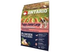 Корм ONTARIO для щенков крупных пород с курицей и картофелем