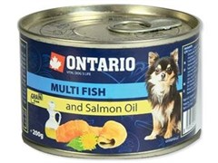 Консервы ONTARIO для собак малых пород с рыбой
