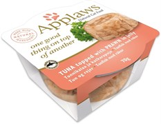 Консервы APPLAWS для кошек Тунец и креветка в желе (Tuna with Prawn Layer pot)