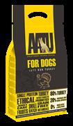 Беззерновой корм AATU для взрослых собак с индейкой, Adult Dog Turkey 80/20