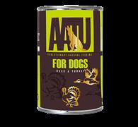 Консервы AATU для собак с уткой и индейкой 400 гр