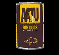 Консервы AATU для собак с мясом дикого кабана и свининой 400 гр
