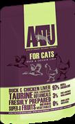 Паучи AATU для кошек с уткой и куриной печенью