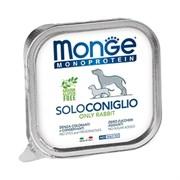 Паштет Monge Monoprotein Solo для собак с кроликом
