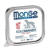 Паштет Monge Monoproteico Solo для собак с говядиной