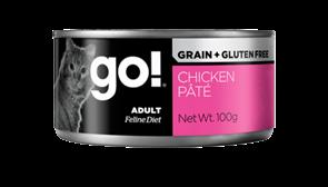 Консервы GO! для кошек с курицей 100 гр (Grain Free Chicken Pate CF)