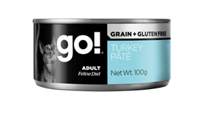 Консервы GO! для кошек с индейкой 100 гр (Grain Free Turkey Pate CF)