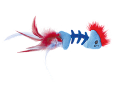 Игрушка Petstages для кошек PLAY FISH BONE рыбка с кошачьей мятой
