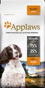 """Корм APPLAWS беззерновой для собак малых и средних пород """"Курица/Овощи: 75/25%"""" (Dry Dog Chicken Small/Medium Breed Adult)"""