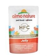 Паучи Almo Nature Лосось в Желе для кошек (Classic Nature Jelly - Salmon
