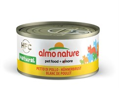 Консервы Almo Nature для Кошек Куриная грудка 75% мяса (Legend Adult Cat Chicken Breast) 70 г