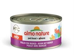 Консервы Almo Nature для Кошек с курицей и манго в желе 75% мяса (Legend in Jelly Adult Chicken and mango), 70 г