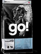 Корм GO Natural Holistic беззерновой для Щенков и взрослых собак с Минтаем для чувств. пищеварения (Limited Ingredient Pollock Recipe Dog Grain Free)