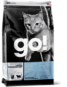 Корм GO! Natural для Котят и Кошек с чувств.пищеварением с минтаем