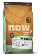 Корм NOW для взрослых собак Малых пород, беззерновой с Форелью, Лососем и овощами (Fresh Small Breed Recipe Fish Grain Free 26/16)