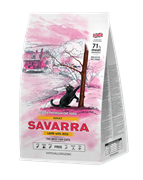 Корм SAVARRA для кошек с ягненком и рисом (Adult cat Lamb/rice)