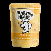 Паучи Barking Heads для собак с избыточным весом с с курицей Худеющий толстячок (Fat Dog Slim) 300 гр