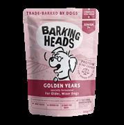 Паучи Barking Heads для собак старше 7 лет с курицей и лососем Золотые годы (Golden Years) 300 гр