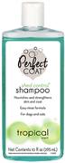 8in1 шампунь для кошек Perfect Coat Shed Control / Hairball против линьки и колтунов с тропическим ароматов 295 мл