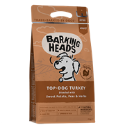 Корм Barking Heads Беззерновой для Собак с Индейкой и бататом Бесподобная индейка (TOP DOG TURKEY)