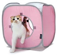 Домик Kitty City для кошек Кубик Рубик.  Kitty Play Cube : 38*38*38см (sp0057).