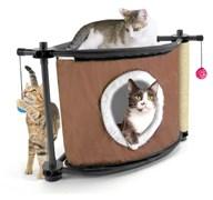 Игровой комплекс с когтеточкой Kitty City для кошек: Сонное царство.  Sleepy Corner : 44*45*45см, с