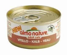 Консервы Almo Nature для Кошек с Телятиной (Classic Adult Cat Veau) 70 г.