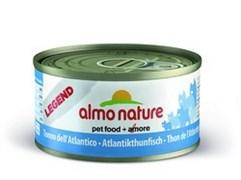 Консервы Almo Nature для Кошек с Атлантическим Тунцом 75% мяса (Legend Adult Cat Atlantic Tuna) 70 г