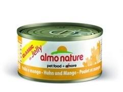 Консервы Almo Nature для Кошек с курицей и  Манго (Classic Adult Cat Chicken Mango) 70 г