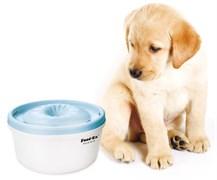 Автоматическая поилка фонтан для кошек и собак Feed-Ex PW-05B. Цвет голубой