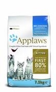 """Корм APPLAWS беззерновой для Котят """"Курица/Овощи: 80/20%"""" (Dry Cat Kitten)"""