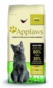 """Корм APPLAWS беззерновой для Пожилых кошек """"Курица/Овощи: 80/20%"""" (Dry Cat  Senior)"""