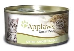 Консервы APPLAWS для Котят с Курицей (Kitten chicken)