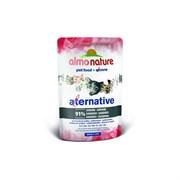 Паучи Almo Nature для кошек с сардинами 91% мяса (Alternative - Sardines)