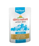 Паучи Almo Nature для кастрированных кошек с цыпленком (Functional - Sterilised with Chicken)
