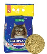 Впитывающий наполнитель Сибирская кошка Эффект