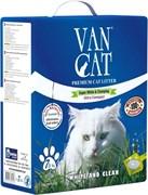 Комкующийся наполнитель VAN CAT Antibacterial с антибактериальным эффектом без пыли