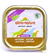 Паштет ALMO NATURE для Собак с телятиной (Bio Pate Veal)
