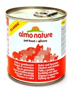 Консервы Almo Nature для Кошек с курицей и креветками (Classic Adult Chicken and Shrimps)