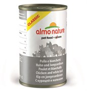 Консервы Almo Nature для Кошек с курицей и мальками (Classic Adult Chicken and White bait)