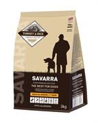 Корм Savarra для собак всех пород с индейкой и рисом (Adult all breed Turkey/rice)