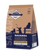 Корм SAVARRA для стерилизованных кошек и кошек с избыточным весом с индейкой и рисом (Adult cat Light/Sterilized Duck/rice)