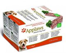 Набор Консервы APPLAWS 5 шт паштет для собак Индейка, Говядина, Океаническая рыба (Dog pate Turkey, beef, ocean fish)